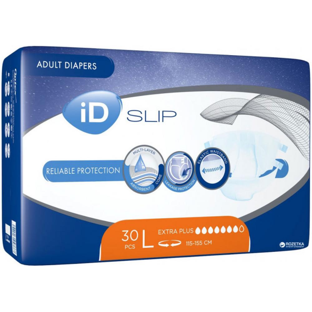 Підгузки для дорослих iD Slip Extra Plus L