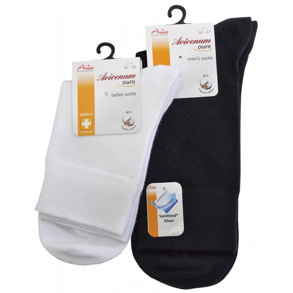 Шкарпетки для діабетиків Aries Avicenum DiaFit